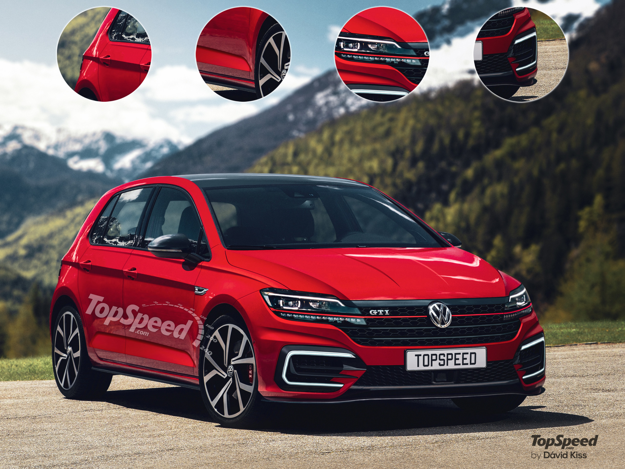 Volkswagen Golf Mk8 Gti Soy Shots And Speculative Review - 2022 Vw Gti Top Speed Configurations, Gas Mileage, Release Date