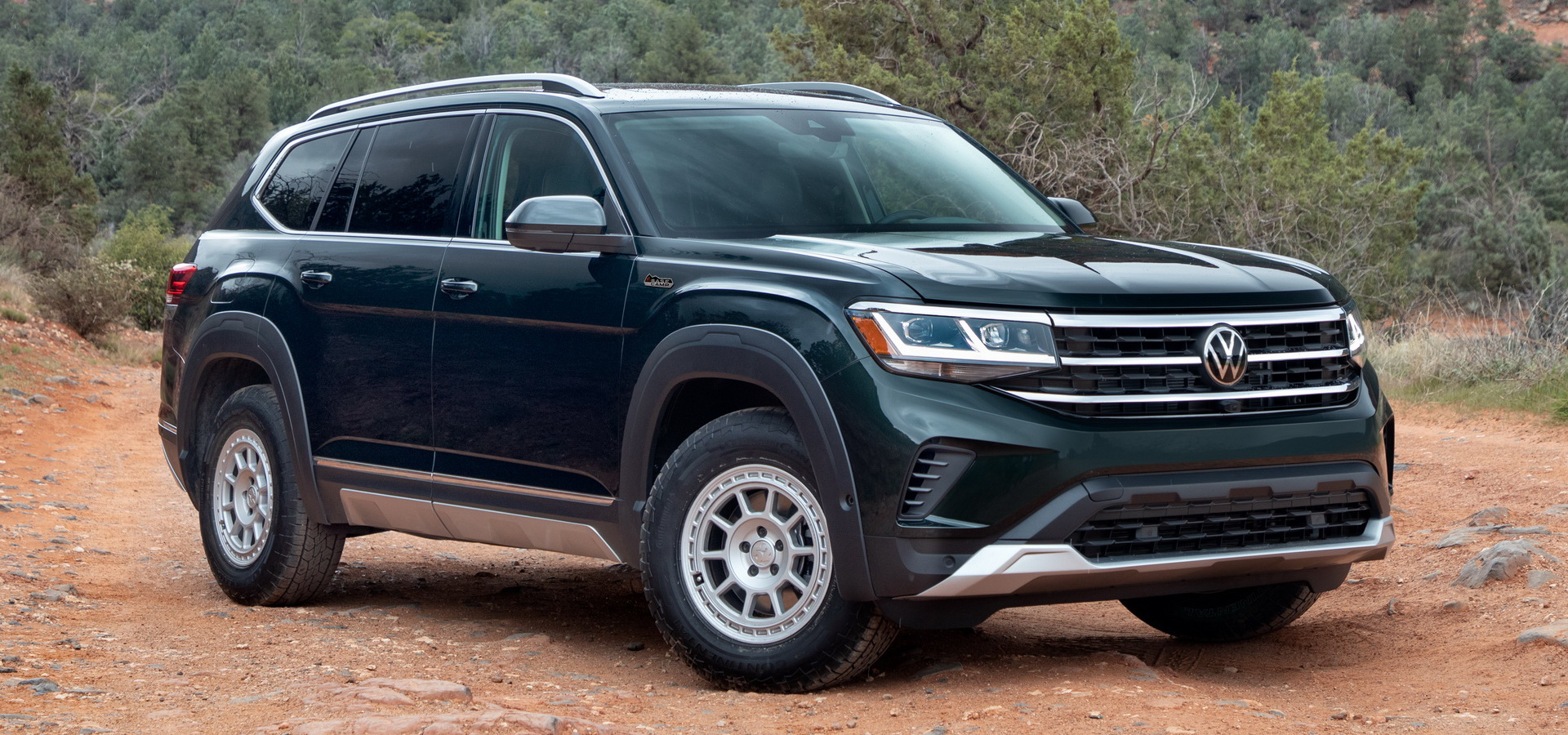 Vw Atlas Gains Rugged Body Kit And Unique Wheels Thanks To - 2022 Vw Atlas Off Road Release Date, Color Options